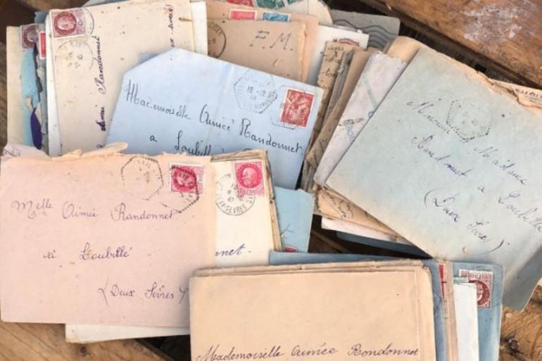 Les lettres d'amour de Pierre à Aimée ont été rendus à leurs descendants.