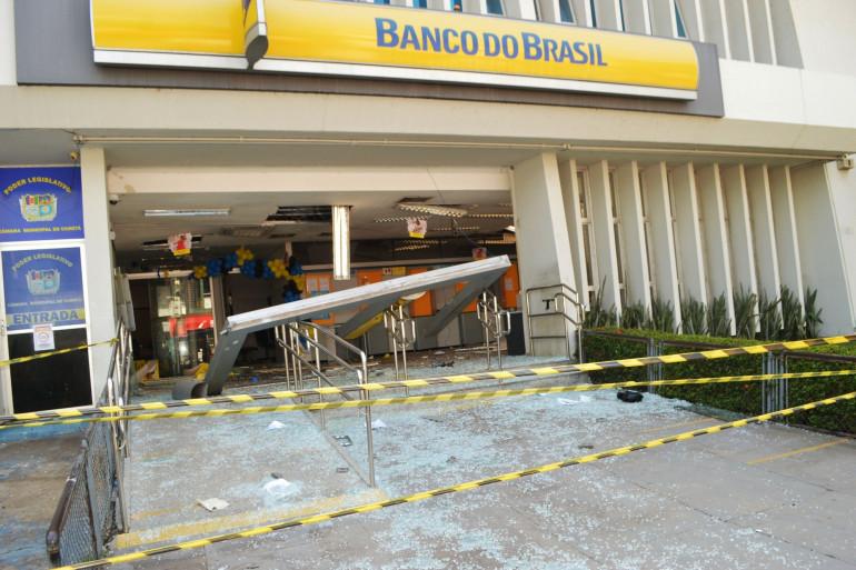L'assaut contre une banque à Cameta au Brésil, dans le nord du pays, survenue le 2 décembre.