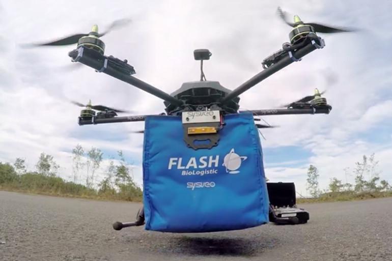 Flash Biologistic va expérimenter cet été le drone-livreur pour le milieu médical