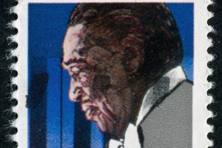 Duke Ellington sur un timbre de la poste des USA
