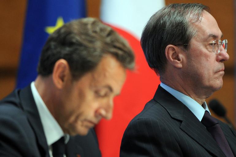 Nicolas Sarkozy et Claude Guéant en 2011 à Bormes-les-Mimosas