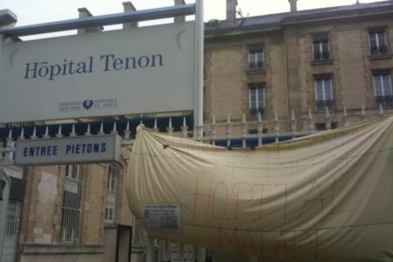 Un patient a agressé une aide soignante ainsi qu'une infirmière à l'hôpital Tenon à Paris. L'homme a été placé en garde à vue.