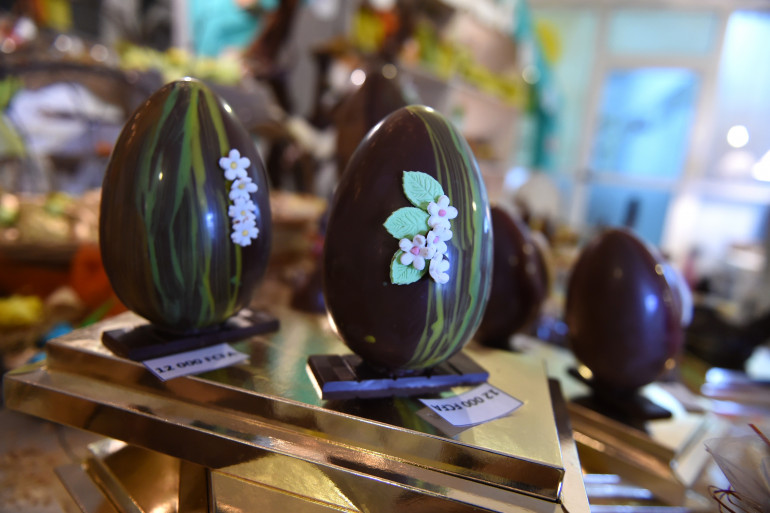 Des œufs de Pâques en Côte d'Ivoire