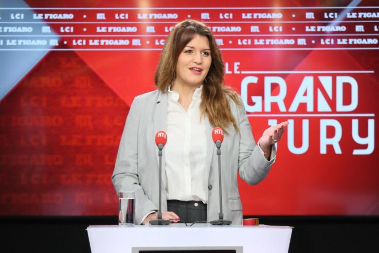 Marlène Schiappa sur le plateau du Grand Jury le 6 décembre 2020.