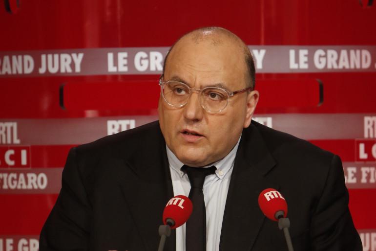 """Julien Dray dans """"Le Grand Jury"""" sur RTL, le 27 mars 2016"""