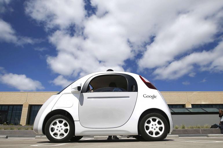 Une voiture autonome de Google