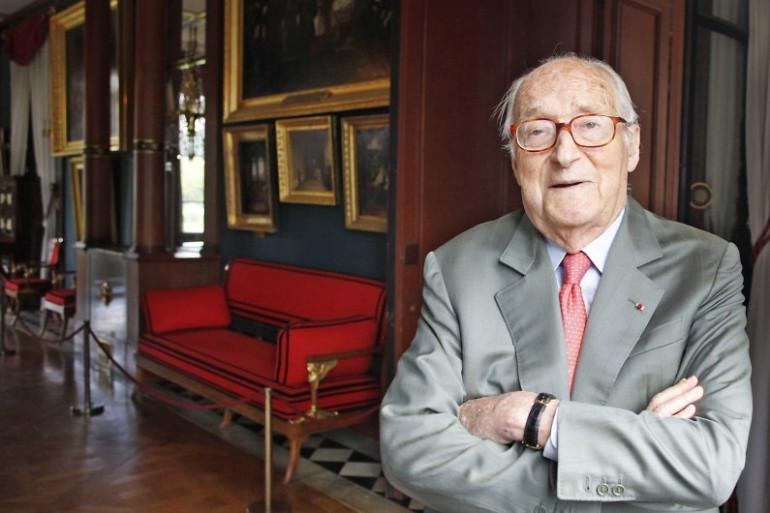 Alain Decaux à Rueil-Malmaison, le 1er juillet 2011