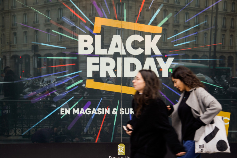 Le black Friday en France (illustration)