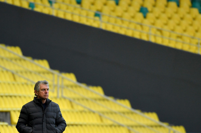 Christian Gourcuff a été limogé de son poste d'entraîneur du FC Nantes, le 8 décembre 2020