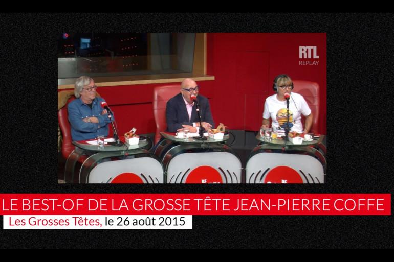 """Jean-Pierre Coffe, une inoubliable """"Grosse Tête"""""""
