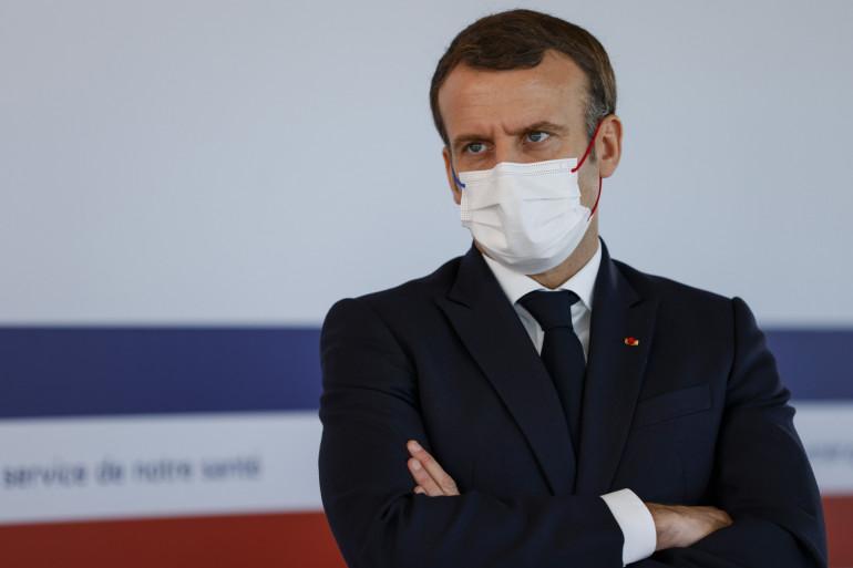 Emmanuel Macron, le 4 décembre 2020