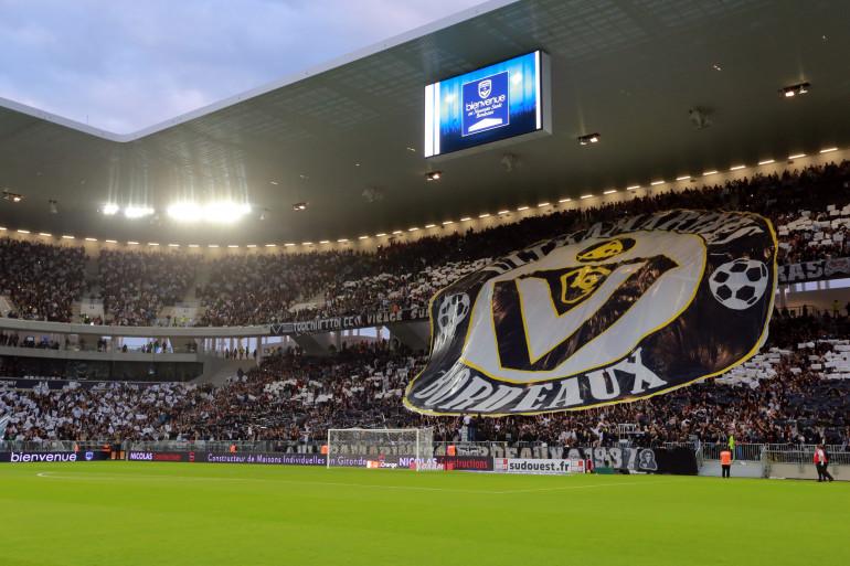 La nouvelle enceinte des Girondins de Bordeaux le 23 mai 2015 (illustration)