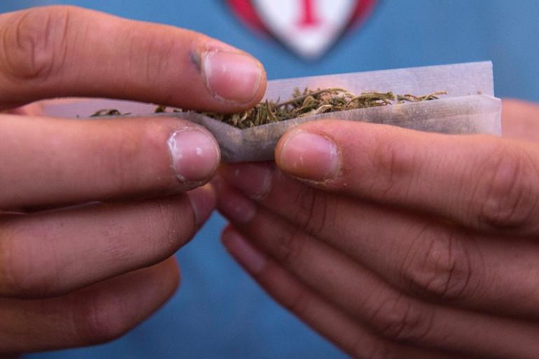 Un consommateur de cannabis (illustration)