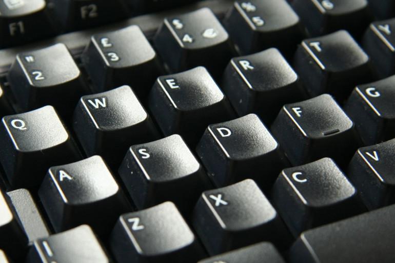 Un clavier d'ordinateur (illustration)