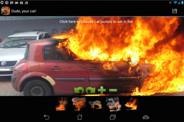 """""""Dude, your car!"""", l'application qui met le feu à votre auto"""