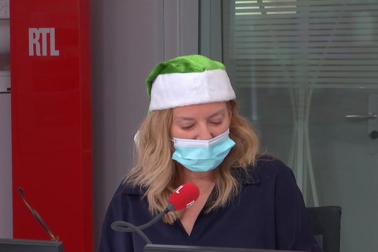 Valérie Trierweiler appelle les Français à rejoindre le Père Noël vert