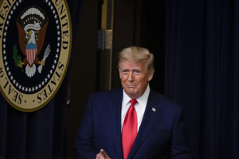 Donald Trump, le 8 décémbre 2020