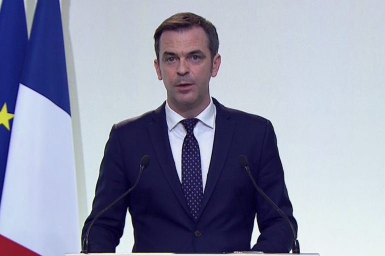 Le ministre de la Santé Olivier Véran le 10 décembre 2020