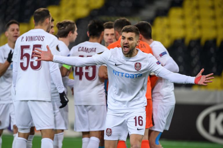 Mateo Susic durant le match Young Boys-Cluj (2-1) le 10 décembre 2020.