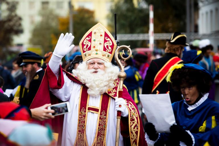 L'arrivée de Saint Nicolas à Anvers, en Belgique, le 16 novembre 2019 (illustration)