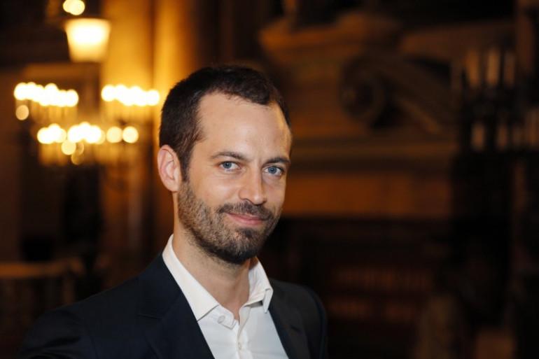 Le chorégraphe Benjamin Millepied en janvier 2013