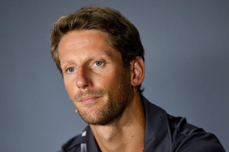 Romain Grosjean à Monza le 30 août 2018