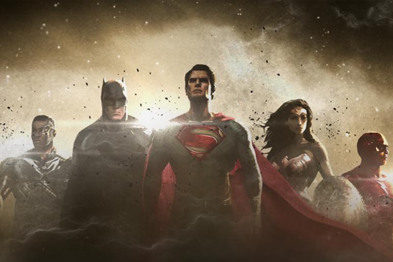 """Un premier artwork de la """"Justice League"""", la réunion de super-héros DC Comics"""