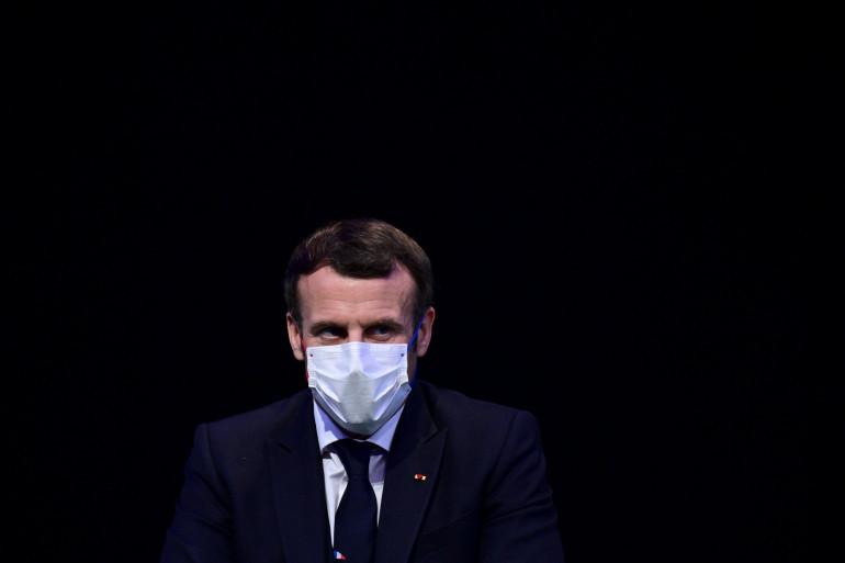 Emmanuel Macron, le 14 décembre 2020