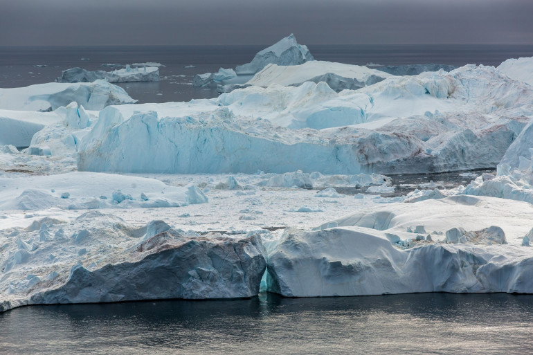 Un iceberg (illustration)