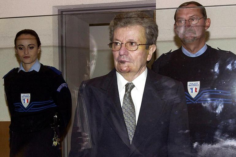 Michel Pinneteau, accusé du triple meurtre de l'Estéron et acquitté.