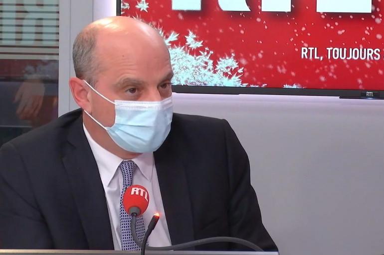 Jean-Michel Blanquer, invité de RTL Soir du 15 décembre