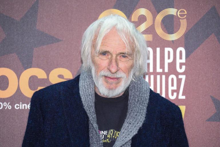 Pierre Richard au festival de l'Alpe d'Huez  le 18 janvier 2017.