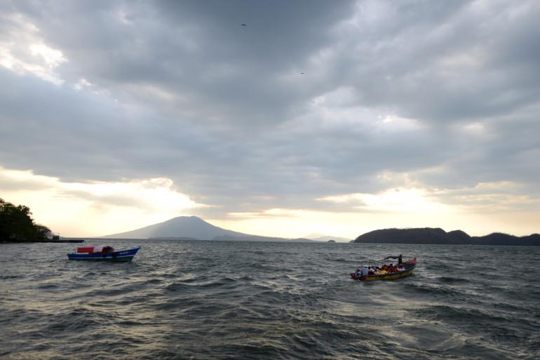 Le volcan Cosigüina se situe dans le golf de Fonseca, dans le nord-ouest du Nicaragua (illustration).