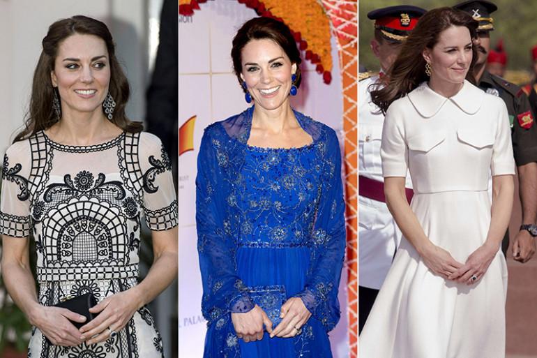 Kate Middleton ravissante en Inde