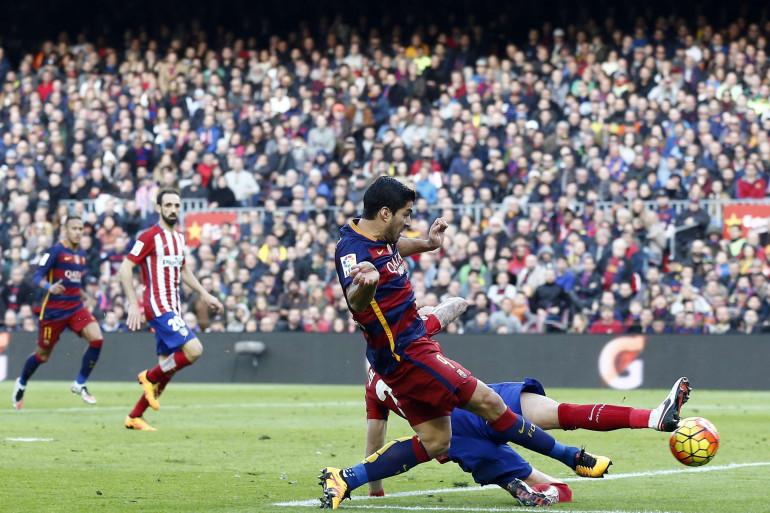 Luis Suarez le 30 janvier 2016