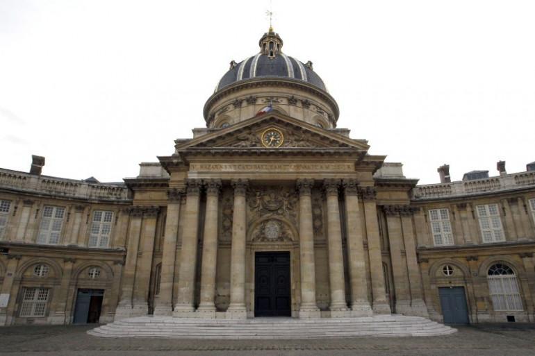 L'Académie française, quai Conti à Paris