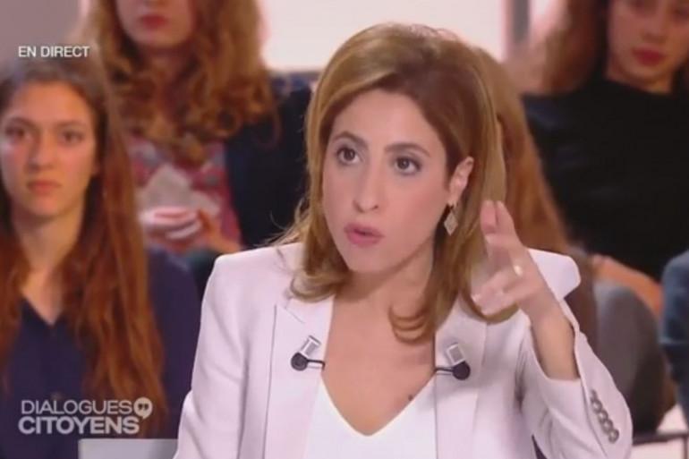Léa Salamé n'a pas ménagé François Hollande sur France 2