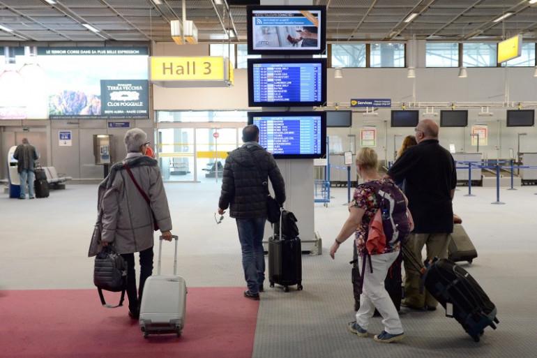 L'intérieur de l'aéroport de Roissy (Illustration)