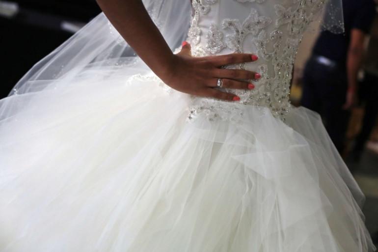 Une mariée (image d'illustration).