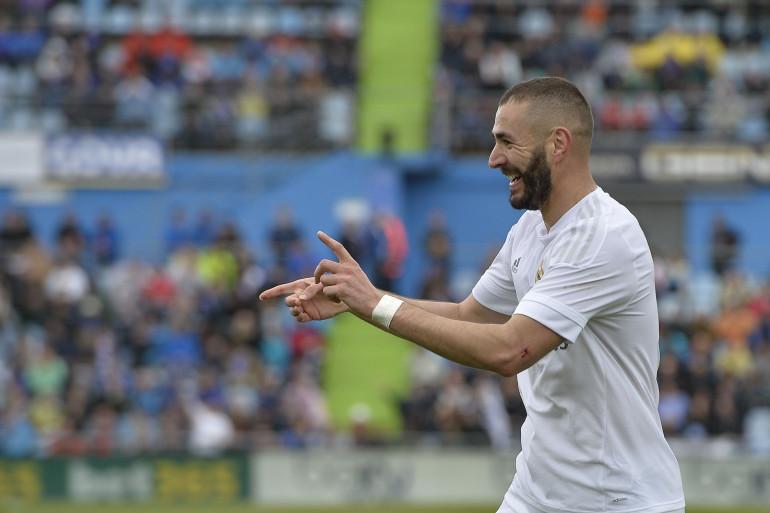 Karim Benzema samedi 16 avril 2016