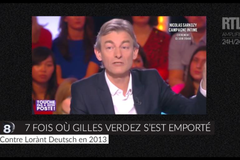 """Sept fois où Gilles Verdez s'est emporté dans """"Touche pas à mon poste !"""""""