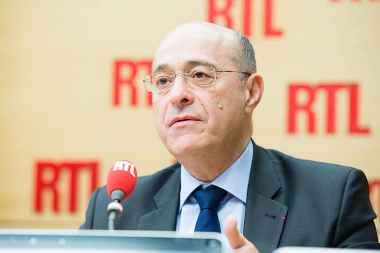 Jean-Marc Falcone, invité de RTL le 21 avril 2016.