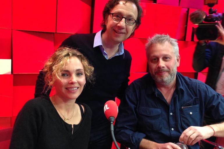 Claire Keim, Jean-François Mallet et Stéphane Bern