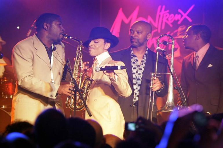 Prince au festival de Jazz de Montreux en juillet 2007