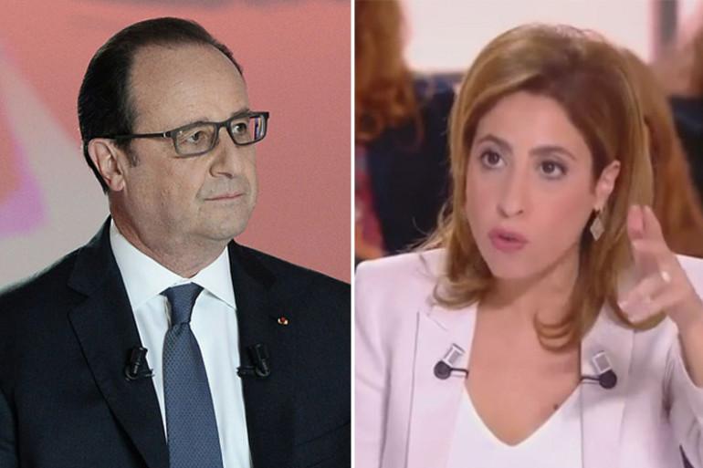 """François Hollande et Léa Salamé dans """"Dialogues Citoyens"""""""