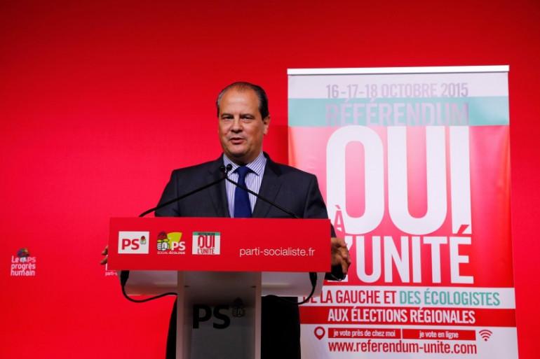 Le premier secrétaire du Parti socialiste Jean-Christophe Cambadélis le 18 octobre 2015