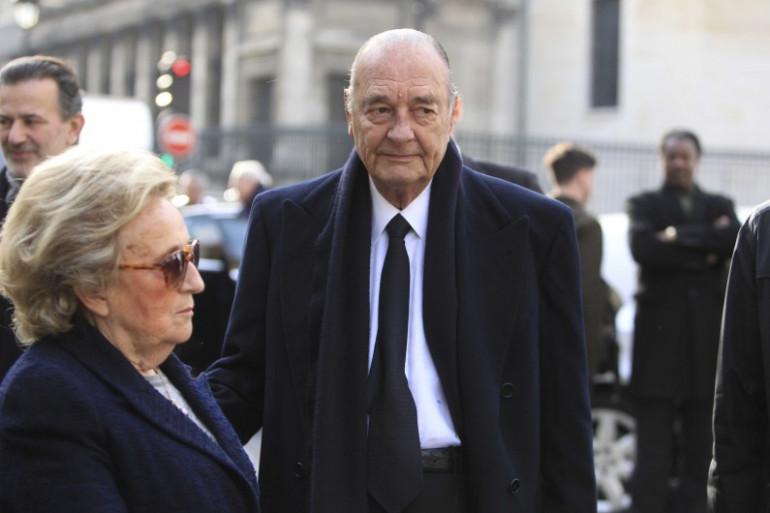 Bernadette et Jacques Chirac, le 20 novembre 2012