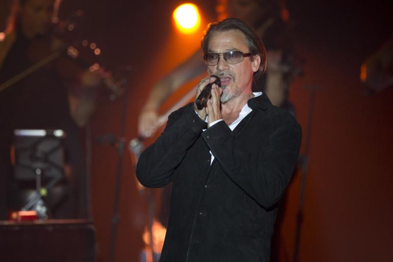 Florent Pagny en concert en 2015