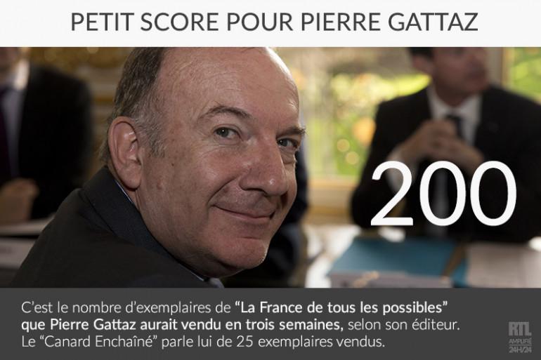 Selon son éditeur, Pierre Gattaz aurait vendu au moins 200 exemplaires de son quatrième ouvrage