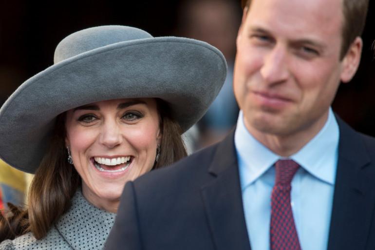 Kate Middleton et le prince William à Londres le 14 mars 2016